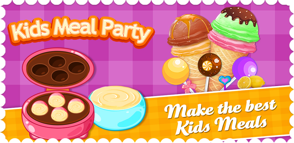 Junior Chef Master: Food salon  When your kids get hungry, what's the first thing they ask for? Ice cream, cake and other sweets!