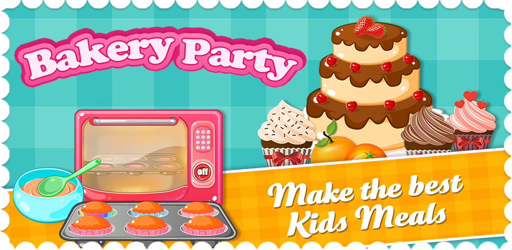 Bakery Party! Cupcake Salon  Mmm, dessert time! Fire up the oven and get your ingredients together, we're gonna make us some amazing sweet treats!