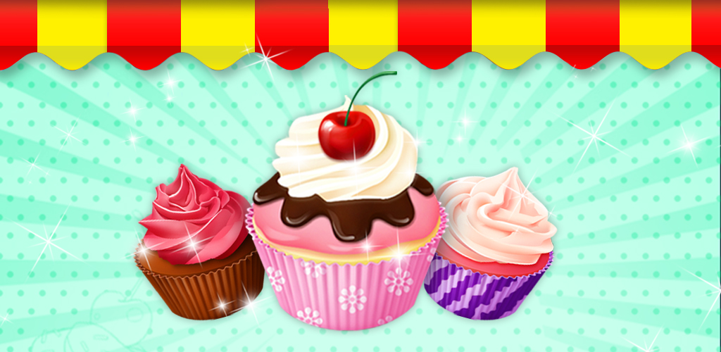 Dessert Maker: Cupcake Party!  It's time for a bite of sweet, sweet chocolate cake! Dessert Maker: Cupcake gives you all the tools you need to turn your phone into a chef's kitchen.