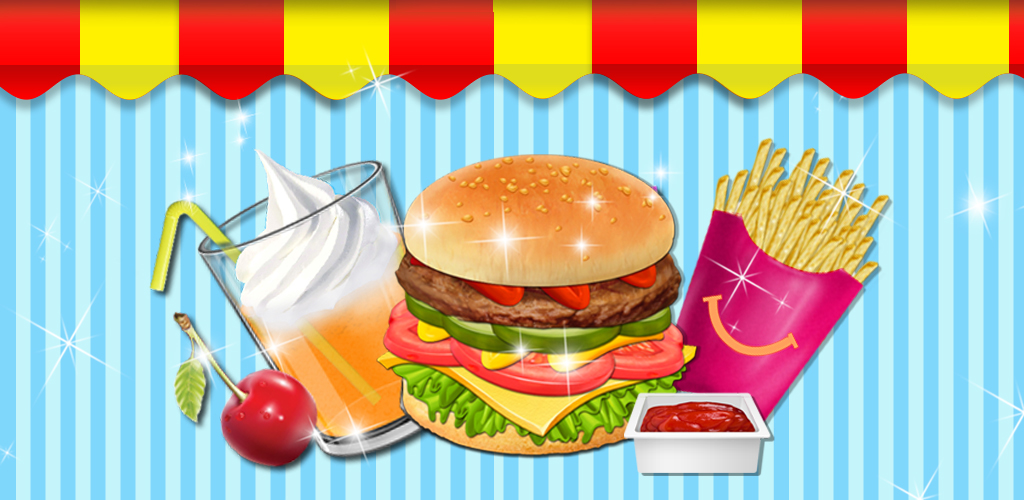 Burger Meal Maker - Fast Food!  What's a kid's favorite food? Hamburgers, fries, ice cream and sodas, of course! Kids Meal Party!