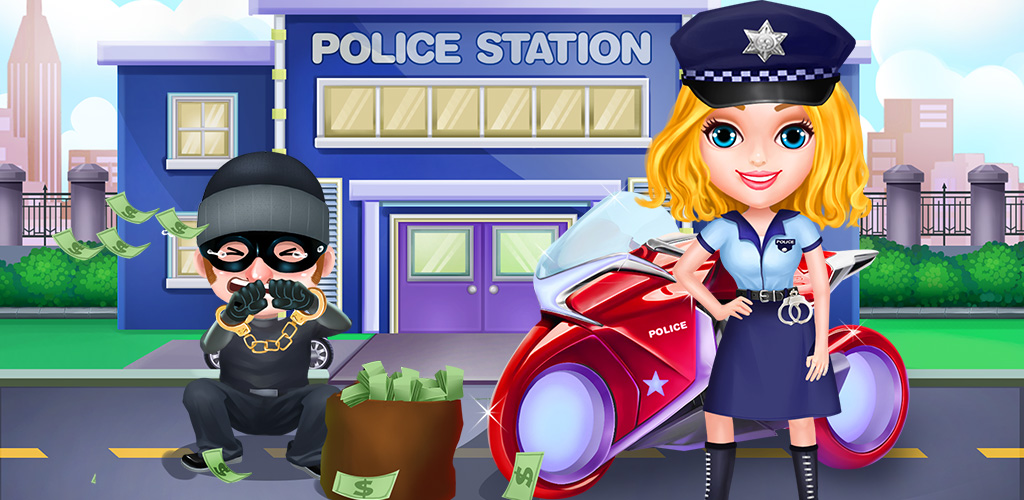 Girls Power Story: Police Hero  A brave female hero who can protect the weak from the guilty and depraved. Police girl is just the warrior woman for the job!
