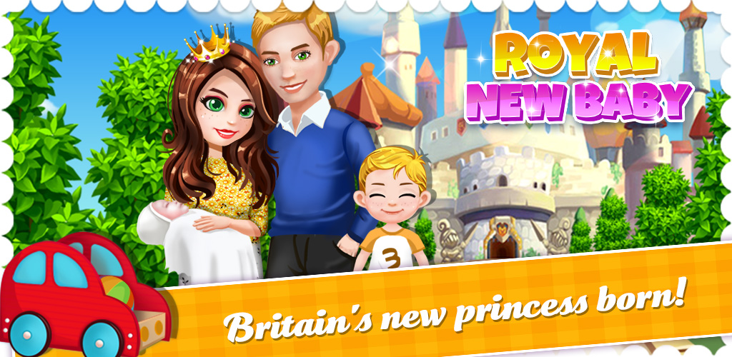 Mother's Newborn Baby Princess  Britain's newest princess has been born! This precious bundle of joy needs your help! Are you ready? Come care for this special baby girl!