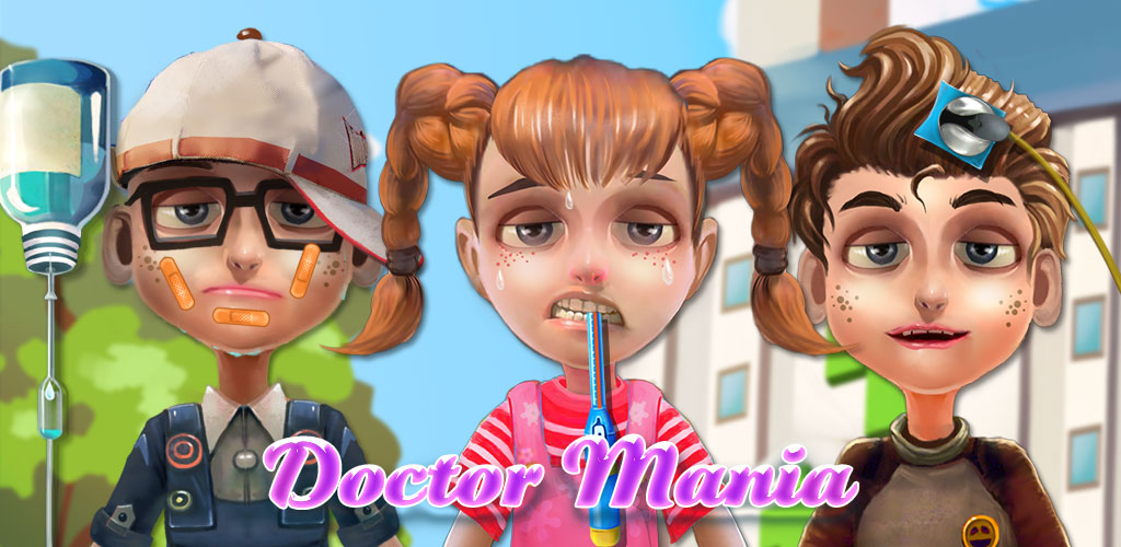 Dentist Games - Baby Doctor  3 Games in 1 APP!! Be an EYE Doctor! Be the NOSE Doctor! Be a CRAZY Dentist!