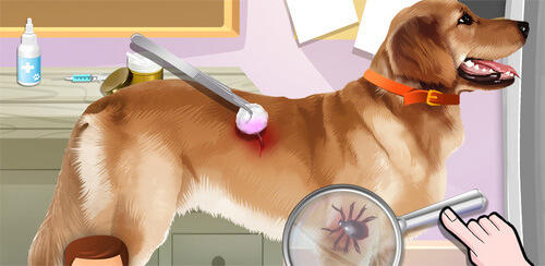 Pet Vet Dr - Animals Hospital  Rescue cute kitty and puppy pets in Pet Doctor! Animal Hospital & Vet Clinic for Cats & Dogs, an amazing medical treatment game for kids that lets you play doctor!