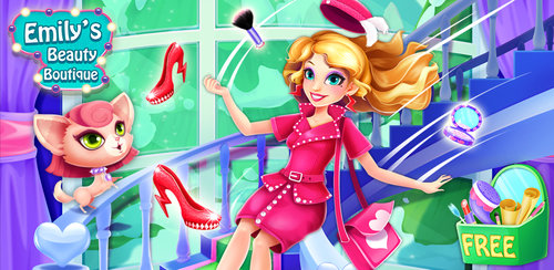 Emily's Beauty Boutique Salon  Run your own shop! Be the fabulous stylist and make ordinary girls superstars!