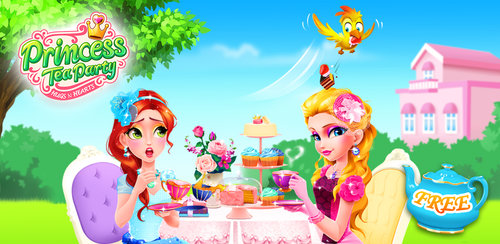 Princess Tea Party Salon  Enjoy the dreamy tea party with gorgeous princesses! Be the royal stylist!