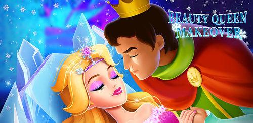 Ice Beauty Queen Makeover 2  Save the Princess that is frozen in the ice castle! Free Dress Up Makeup Games