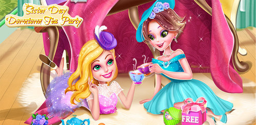 BFF Dressup Makeup Tea Party  Sisters Day! Invite BFFs for a tea party and share Spa, Dressup and Makeup tips!