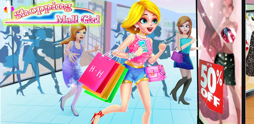 Crazy Shopping Mall Girl  HUGS & HEARTS Shopping Day. Buy everything you want at the mall!