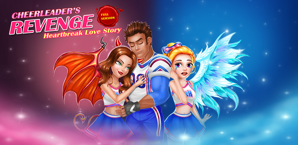Cheerleader's Revenge Love Story: Season 1  BETRAYED by your BFF and boyfriend! Give up or fight back?