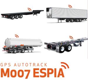 GPS AUTOTRACK ESPÍA M-007  La mejor solución para seguimientos sigilosos de su trailer, carros, remolque, cama baja, frigorífico, portajumbos, silo, tanque, etc.    Leer más sobre GPS ESPÍA >