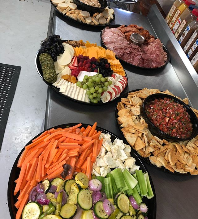 Need some inspiration for you next party platter order from Cedar Creek! *Balsamic Bruschetta w/ parmesan crisps. *Summertime Grilled Veg & Crudités w/ house Ranch *Charcuterie & jalapeño habanero pepper jelly* * Buffalo Chicken Dip w/ Parmesan Dippers  To order call Cedar Creek Catering 267-581-7533