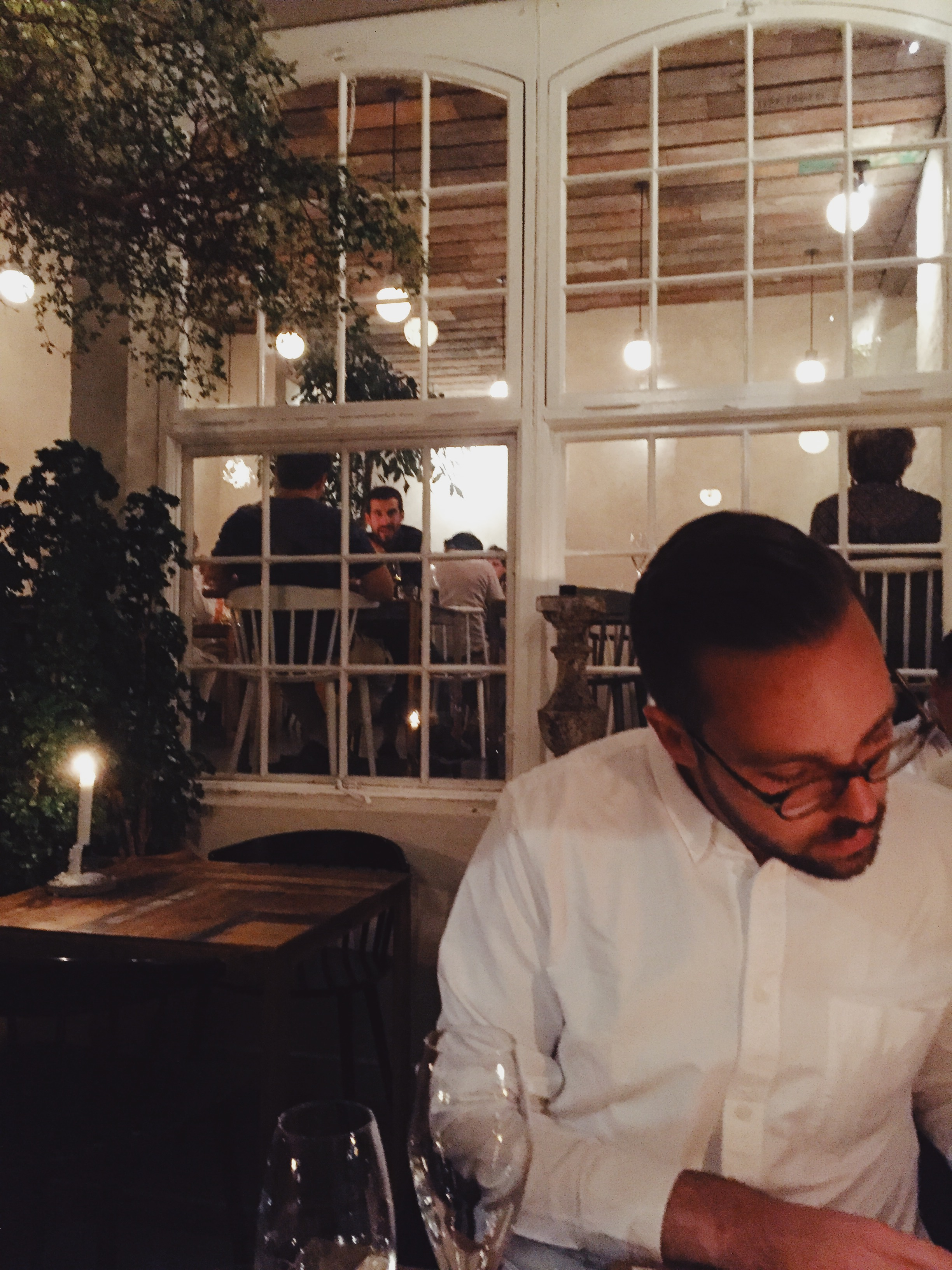 Ordering too much food at Höst.