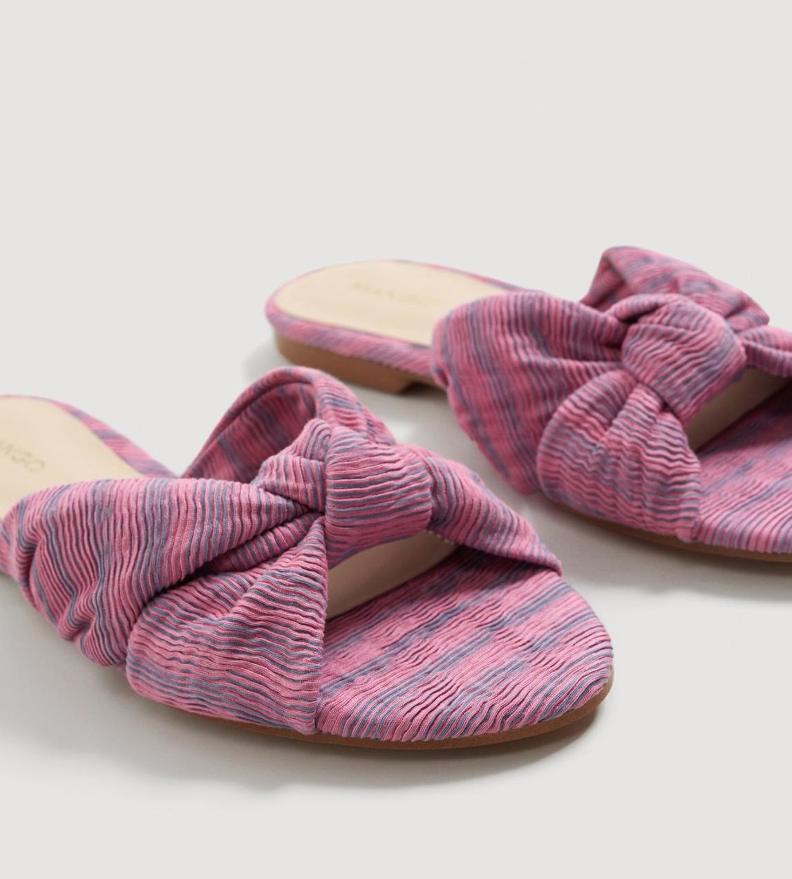 Pink knot slides, $40