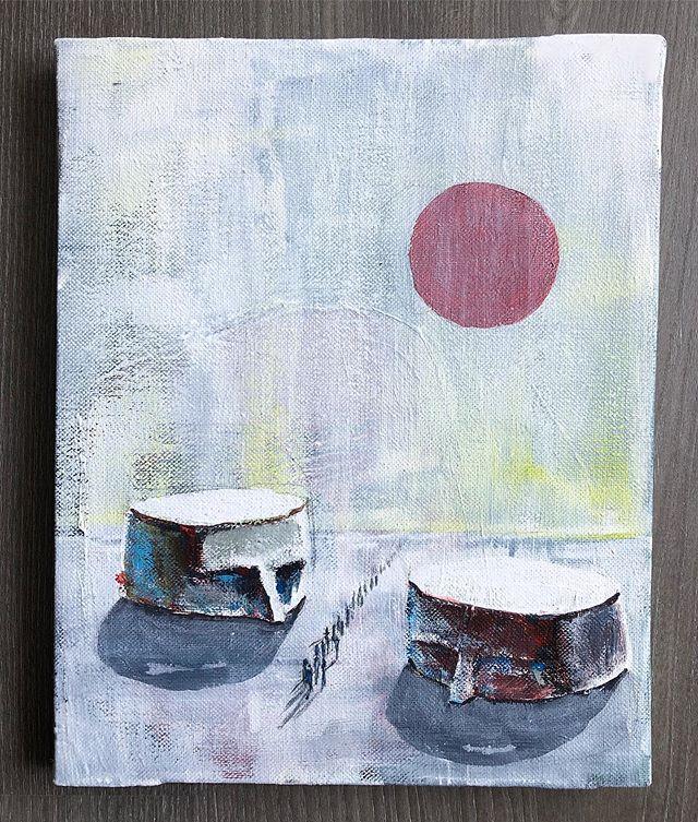 Acrílico sobre lienzo. . . . . #painting #acrilic #canvas