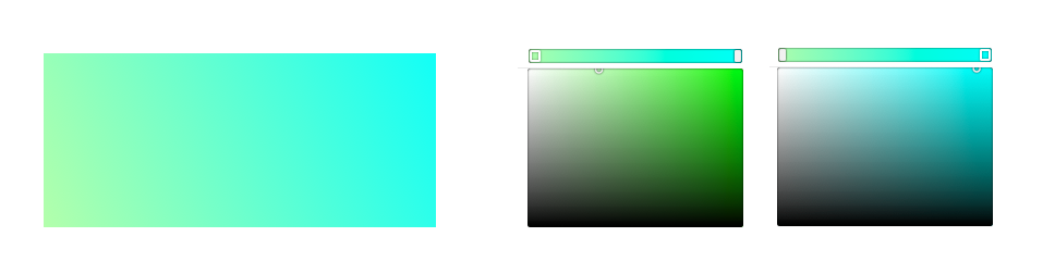 淺色系漸層範例