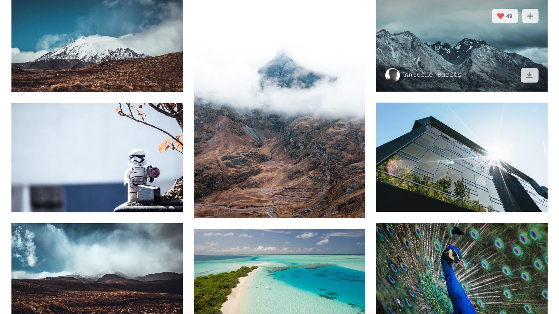 Unsplash   CC0 高解析度攝影圖庫,支援商業用途,無需費用,主題性多元