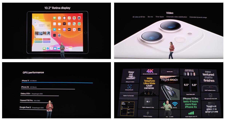 圖片來源: September Event 2019 — Apple