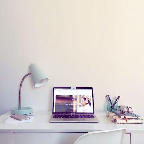2. Designate a work space - Working from home - MiriamBallesteros.com.jpeg