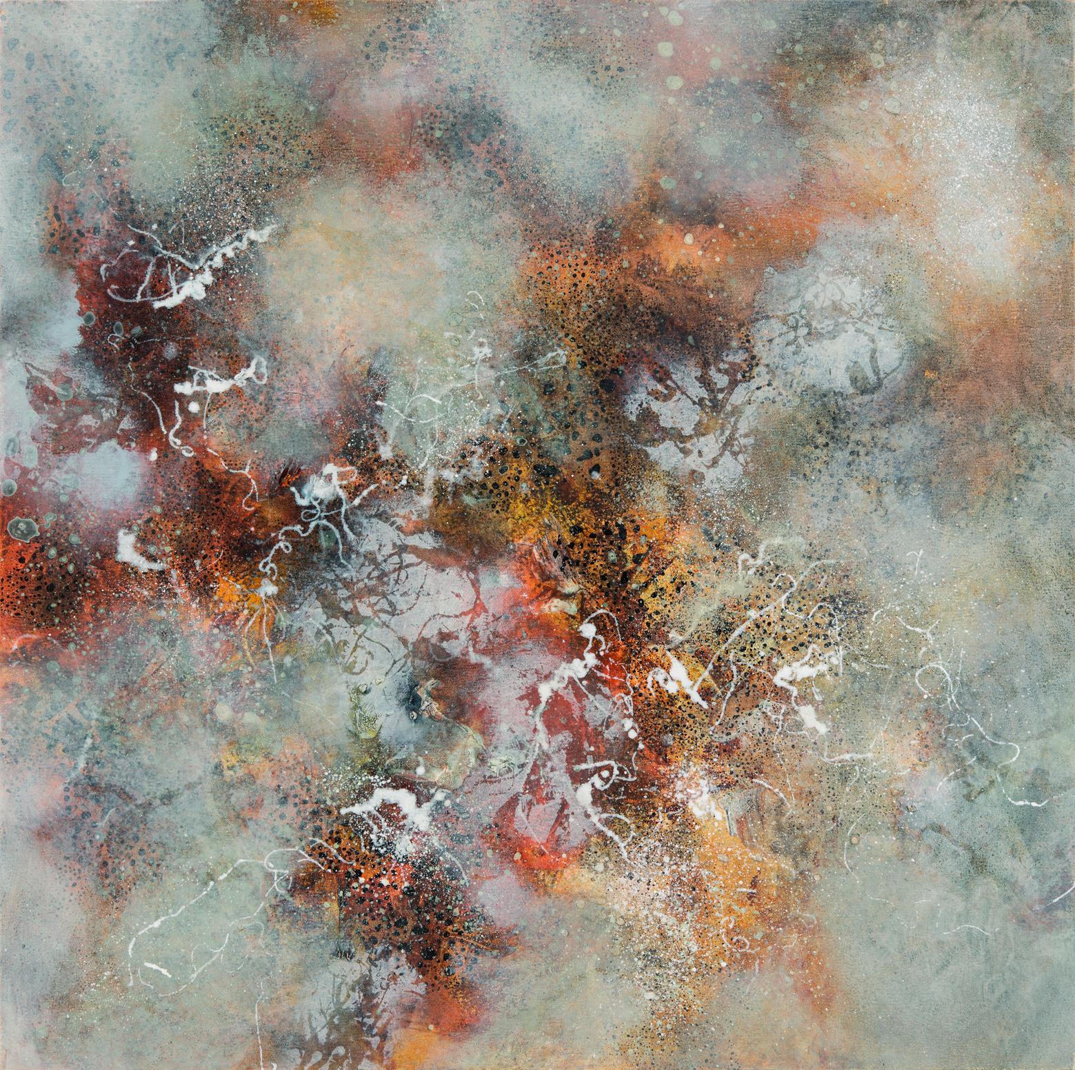 Essence, oil on canvas, 76 x 76 cm