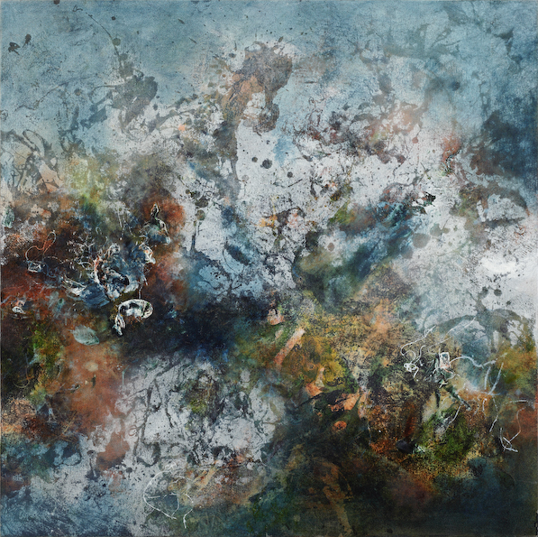 Matter, oil on canvas, 76 x 76 cm, SOLD