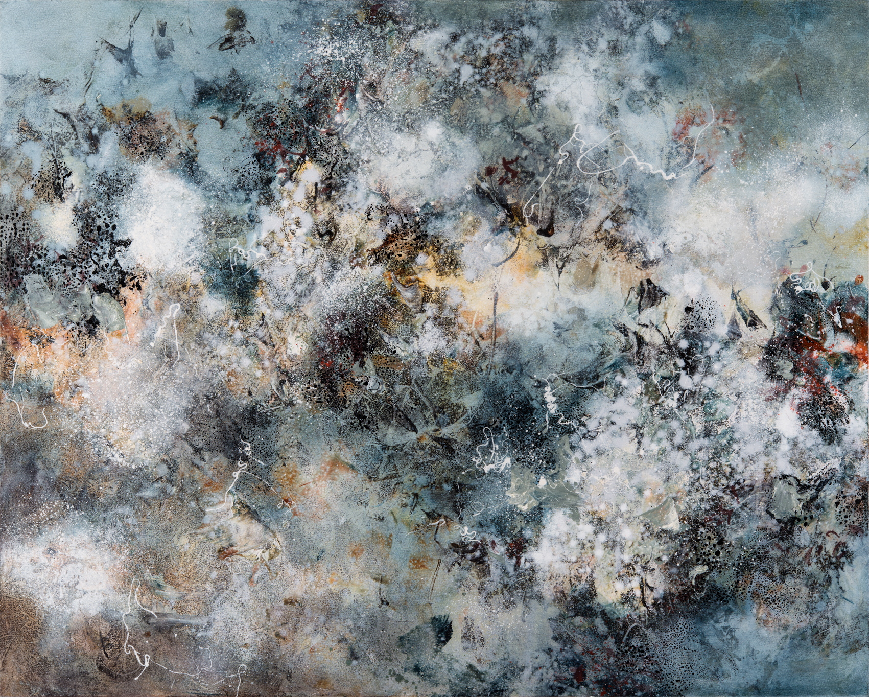 Turbulence, oil on canvas, 102 x 127 cm, SOLD