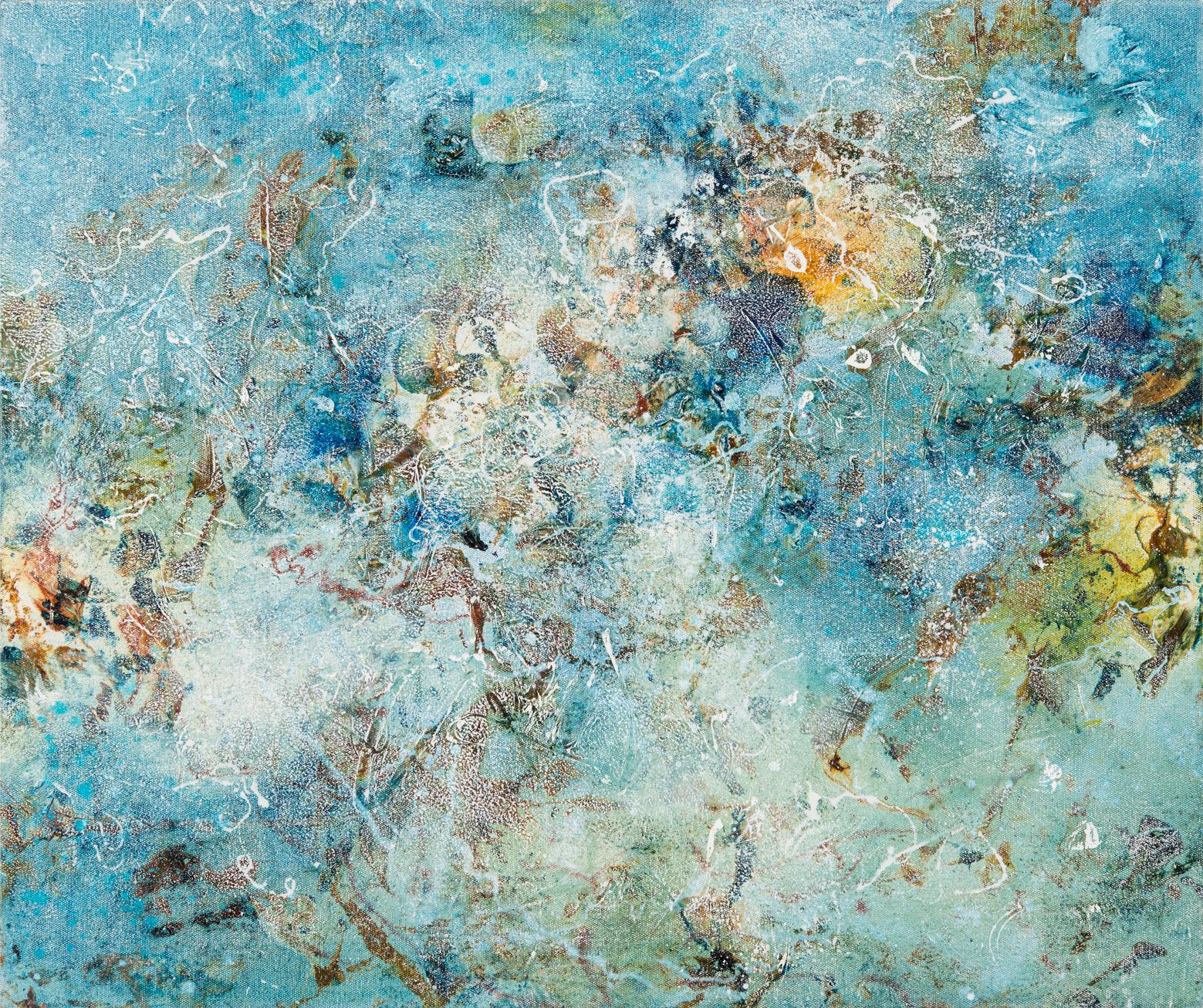 Ebb, oil on canvas, 50 x 60 cm