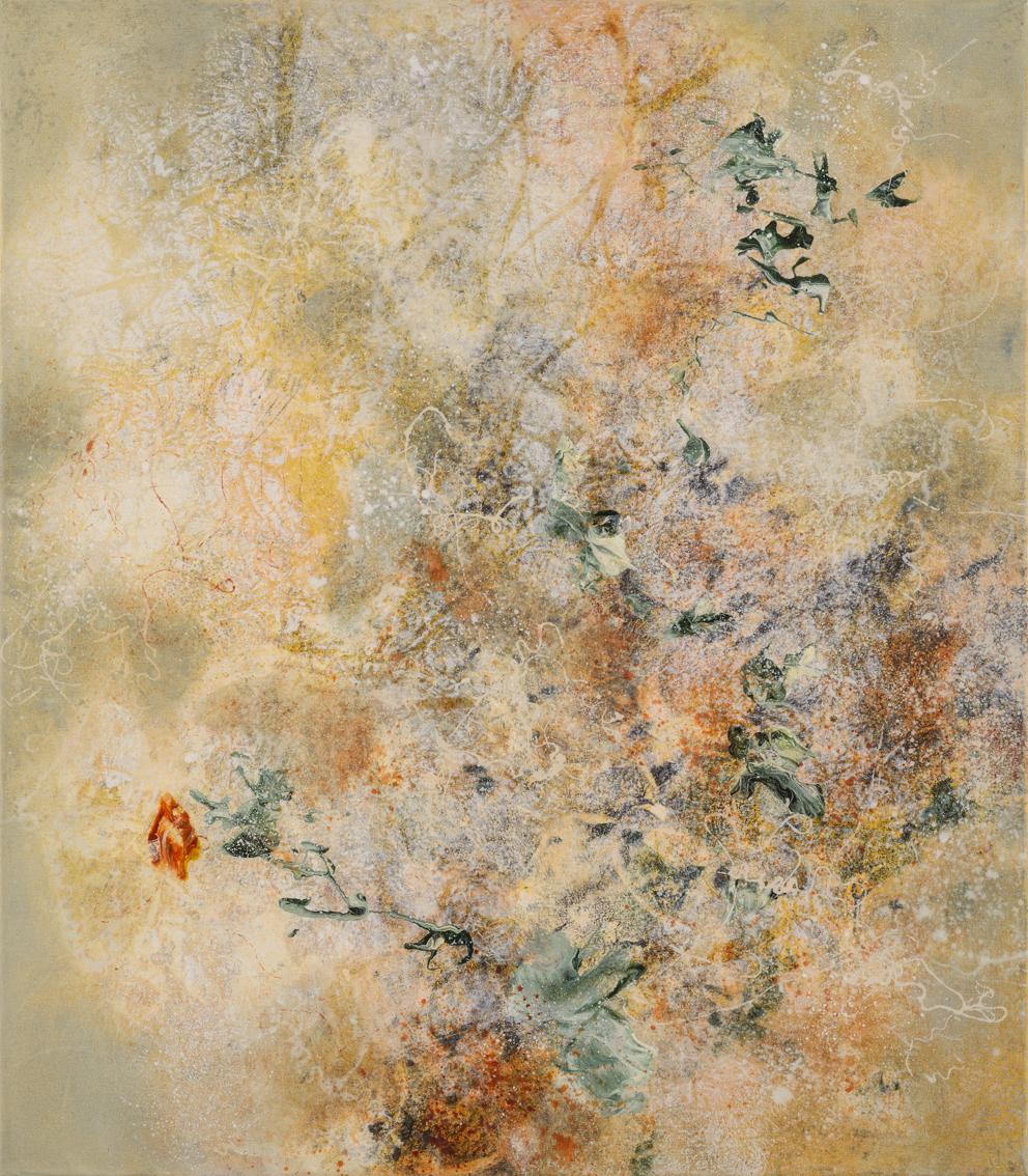 Transcendence I, oil on canvas, 80 x 70 cm, SOLD