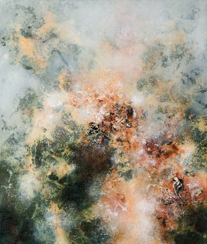 Resurgence, oil on canvas, 130 x 110 cm