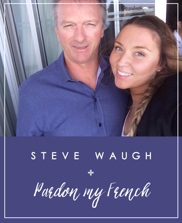 Steve Waugh - one of Australia's most respected Captain's of the Australian Cricket Team