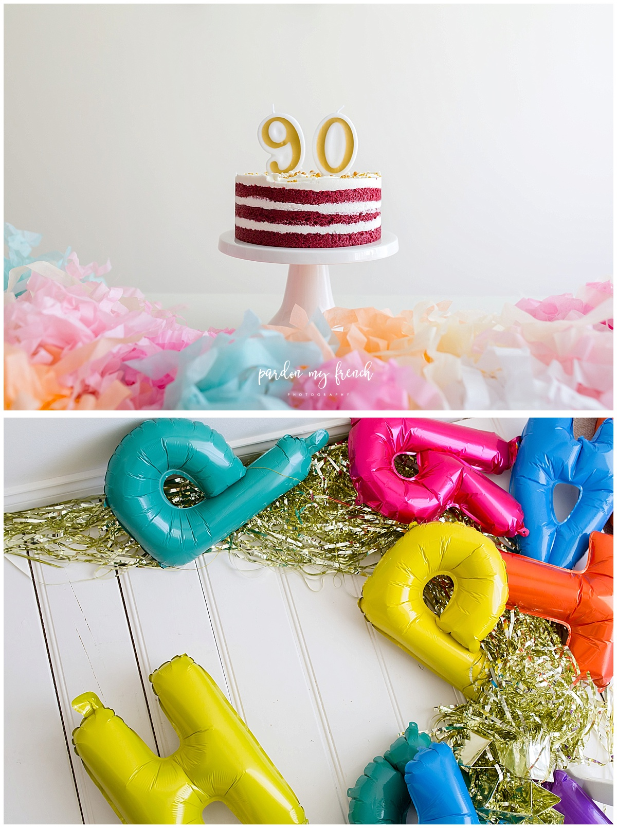 Adelaide Photographer 90 year old birthday cake smash copyright Pardon my French Photography 2.jpg