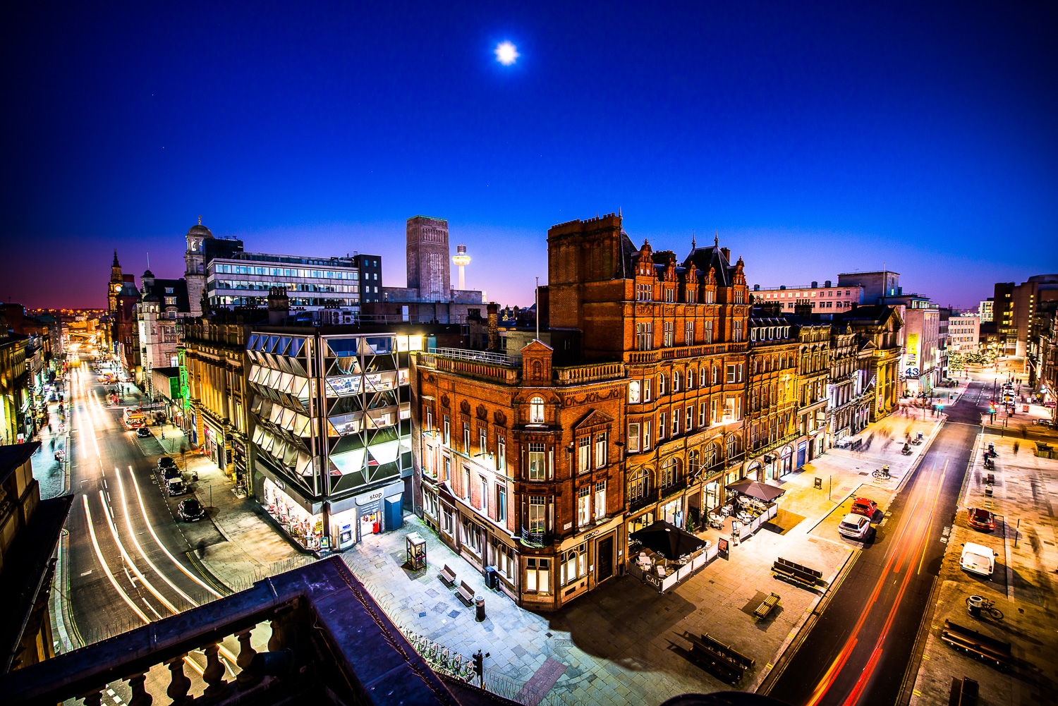 Some Night Photography For The Liverpool Commercial District Bid Company Ant Clausen Photography