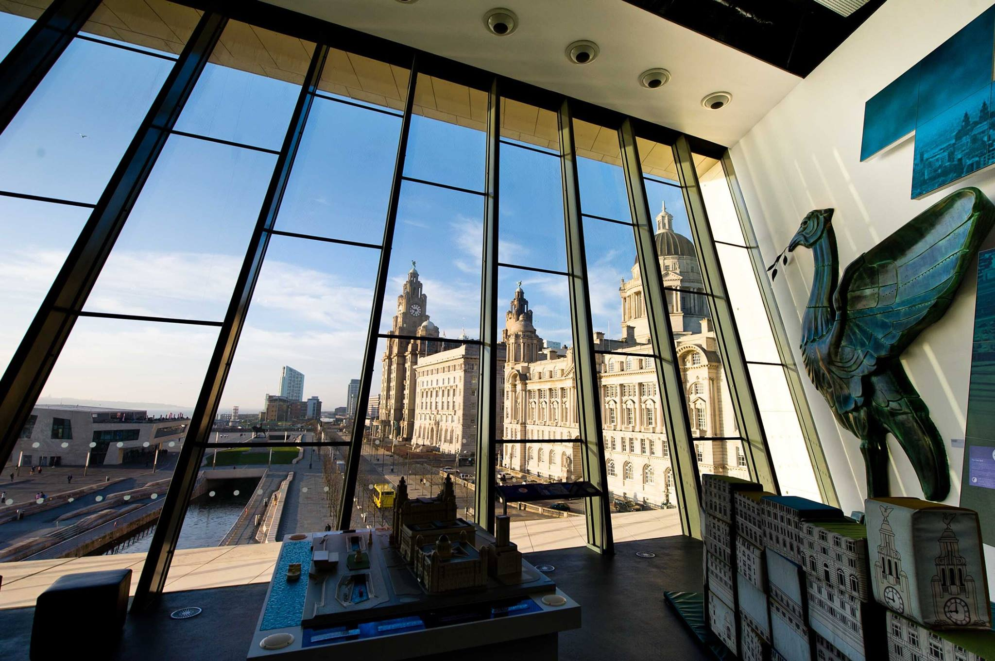 photo of Museum of Liverpool - winning the UK best view competition