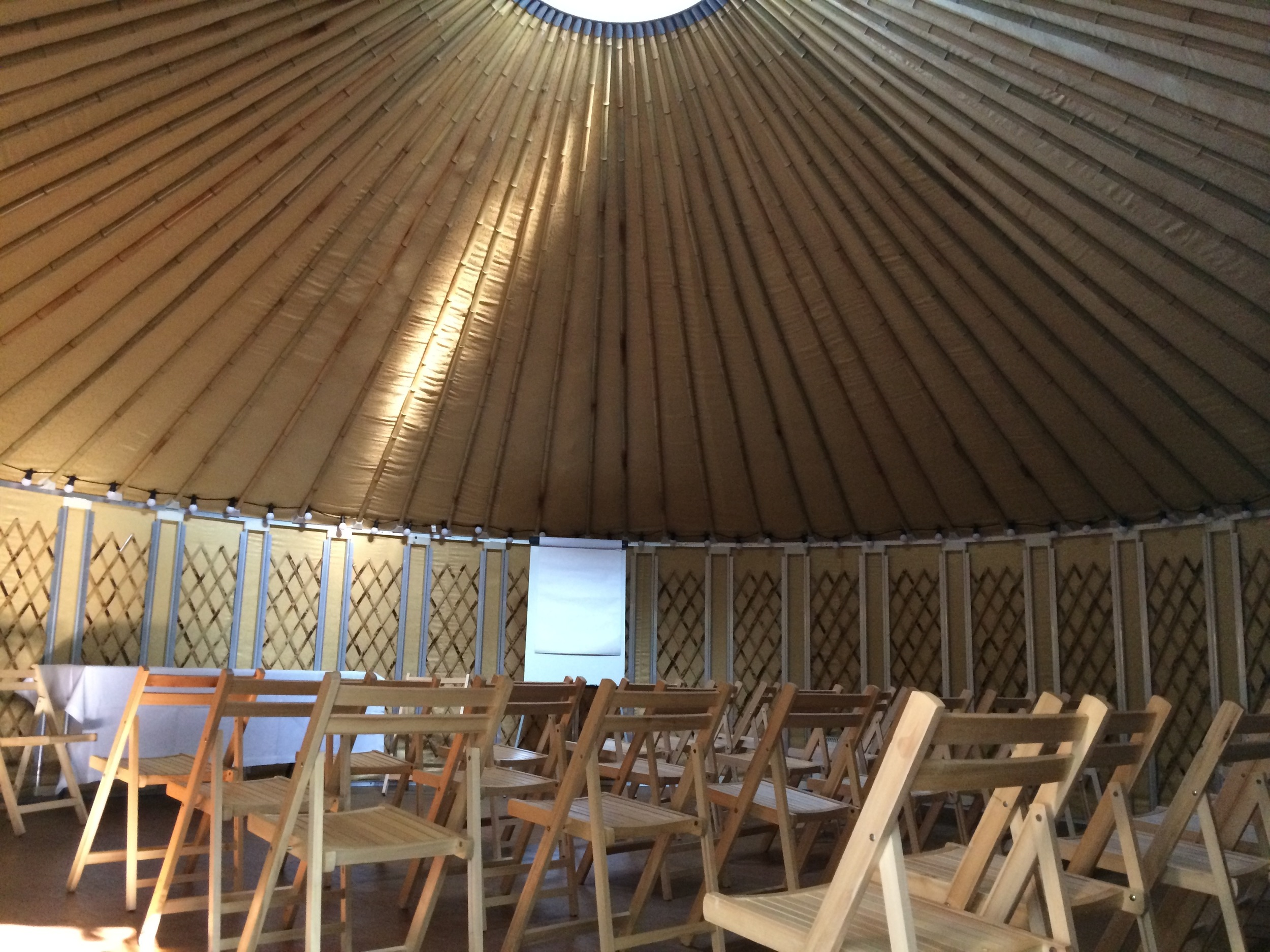 Yurt Conference