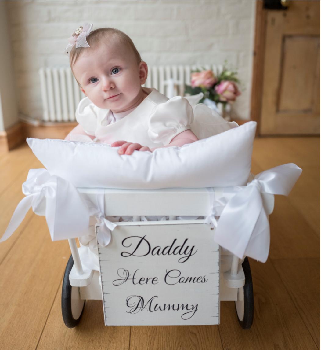 Baby Wedding Carriage