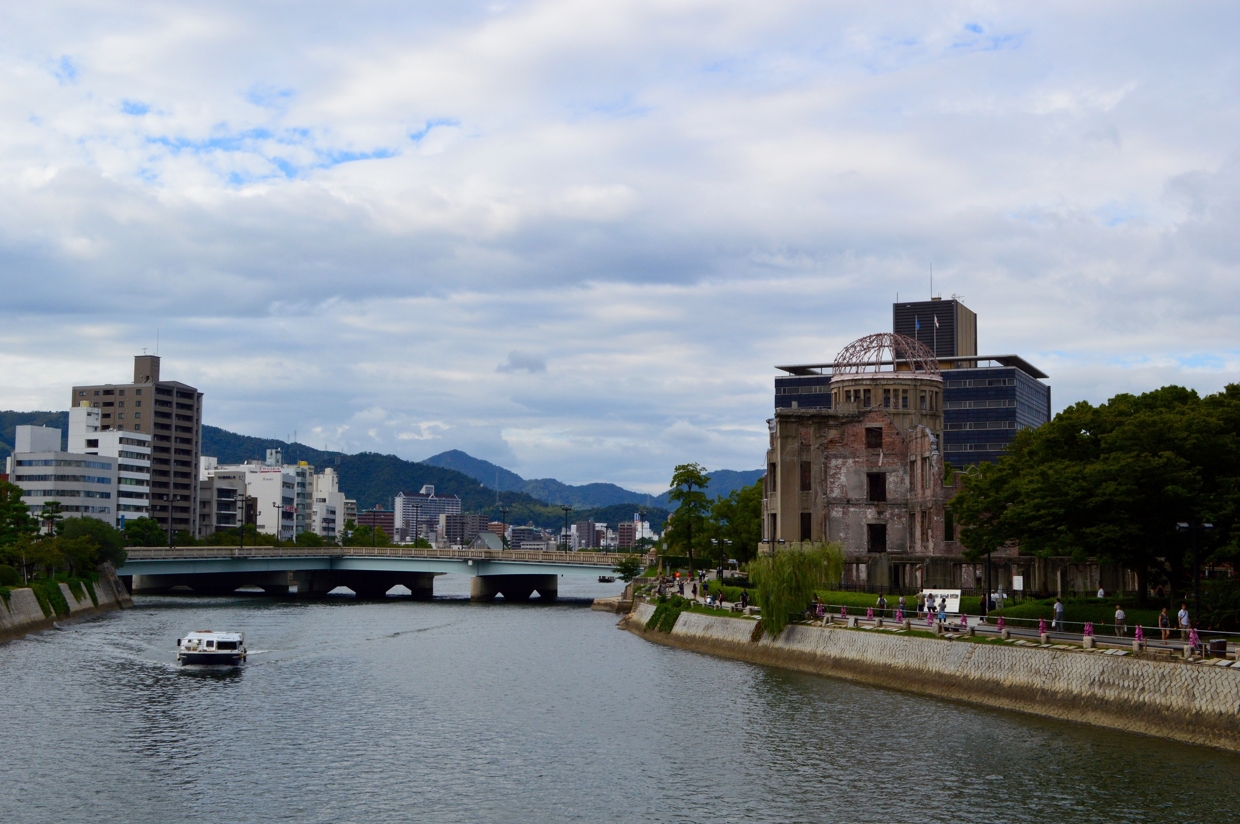Hiroshima Skyline with A-Bomb Dome