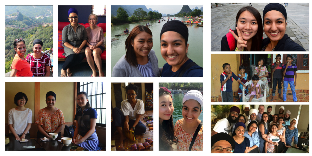"Only a few of the people who have been kind enough to ""adopt"" me while I was in Asia."