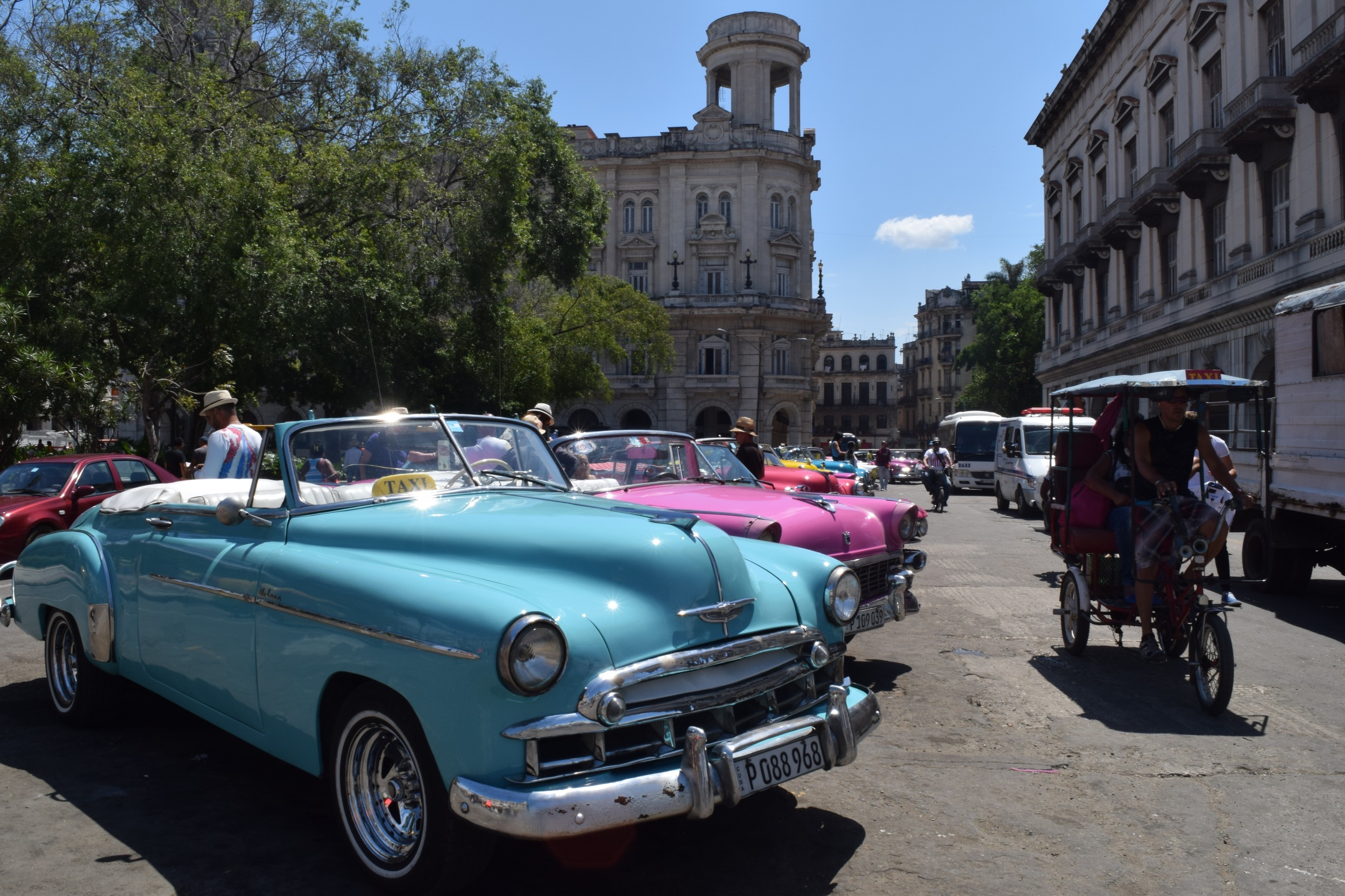 Time certainly seems to have stood still in Cuba.