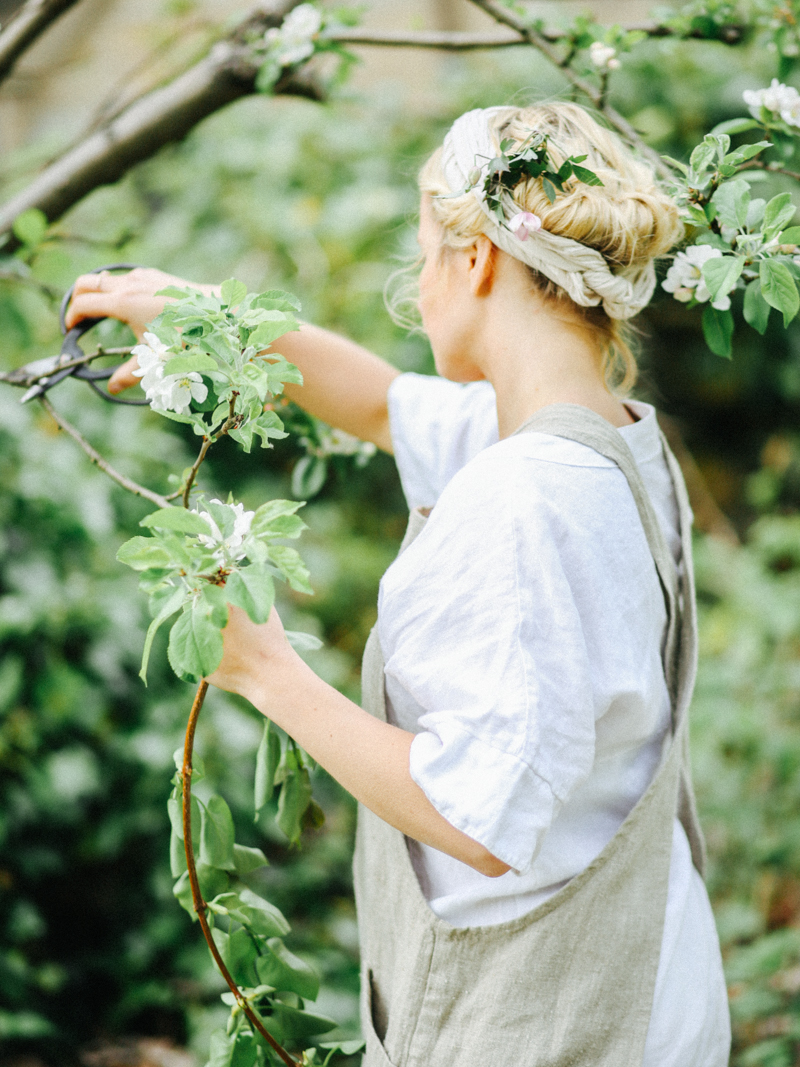 Foraging in the grounds