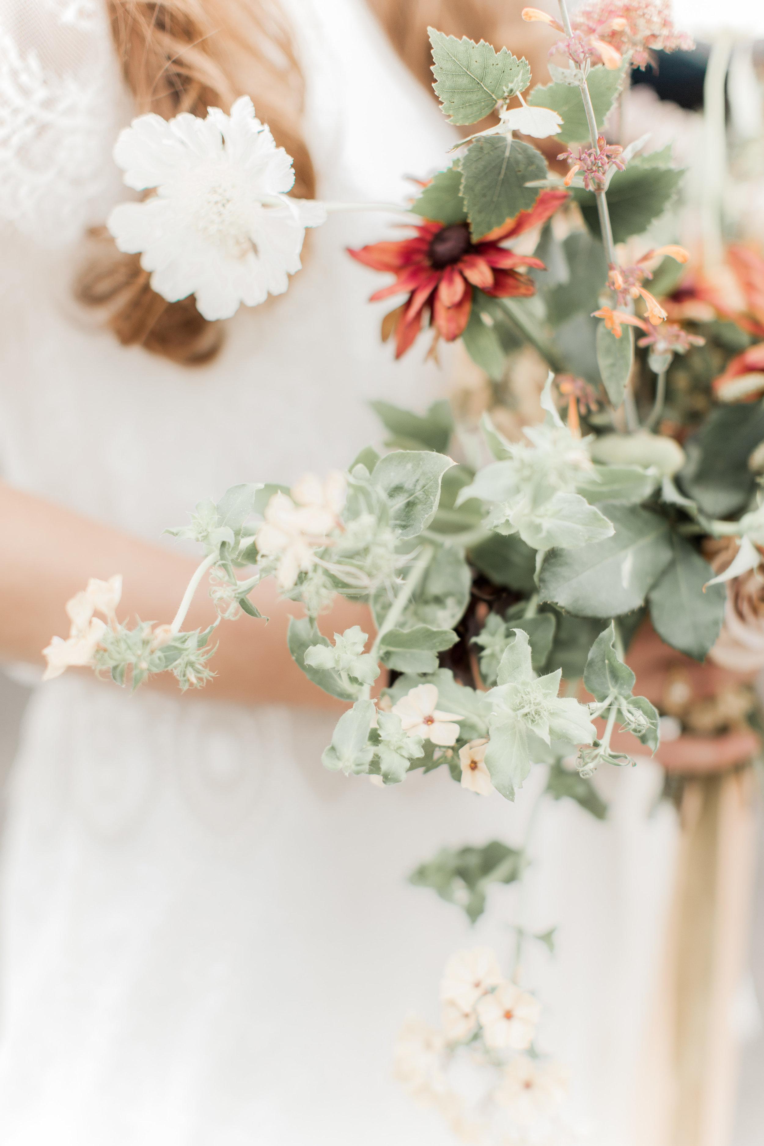 ~Wedding bouquet of British flowers