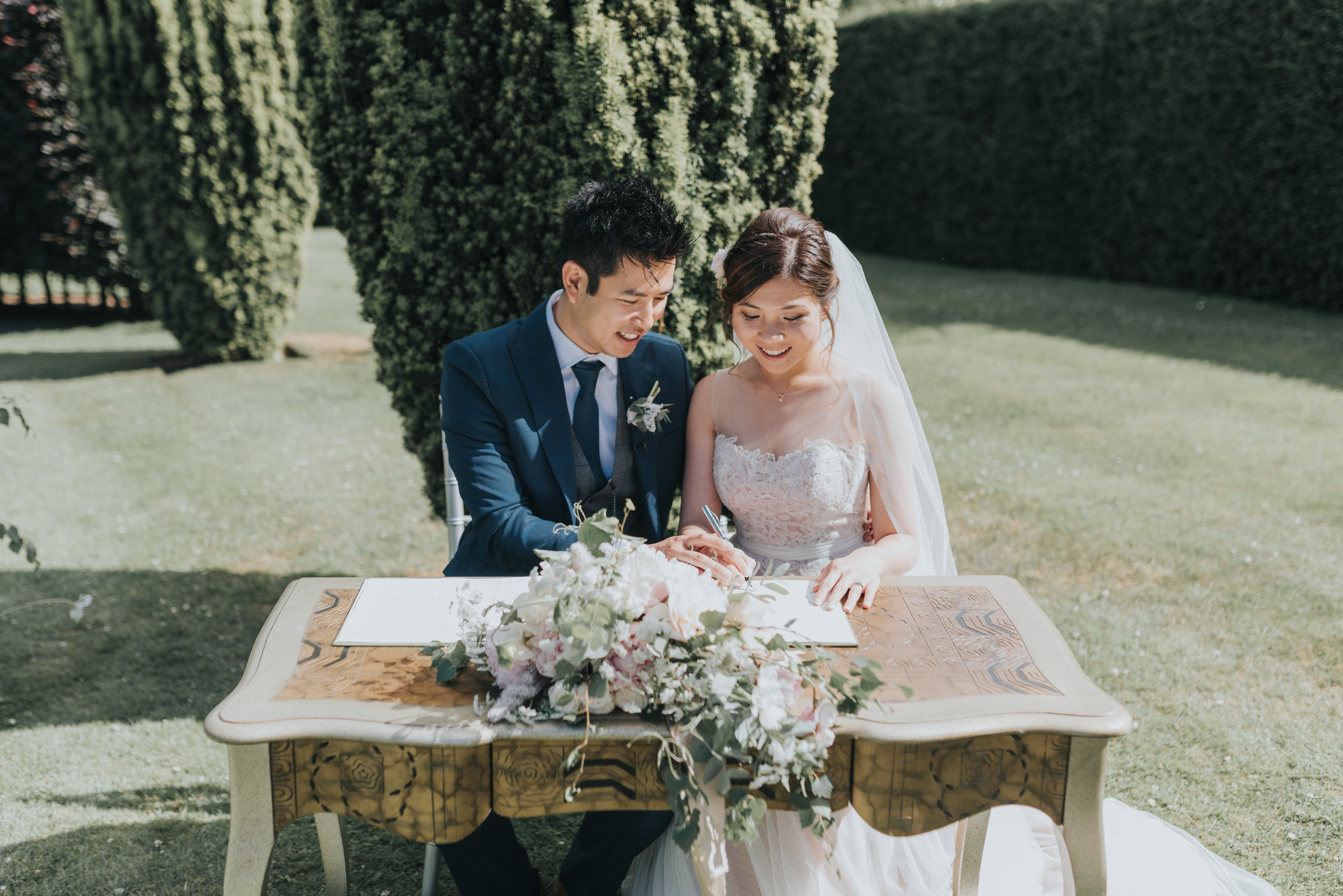 outside wedding UK