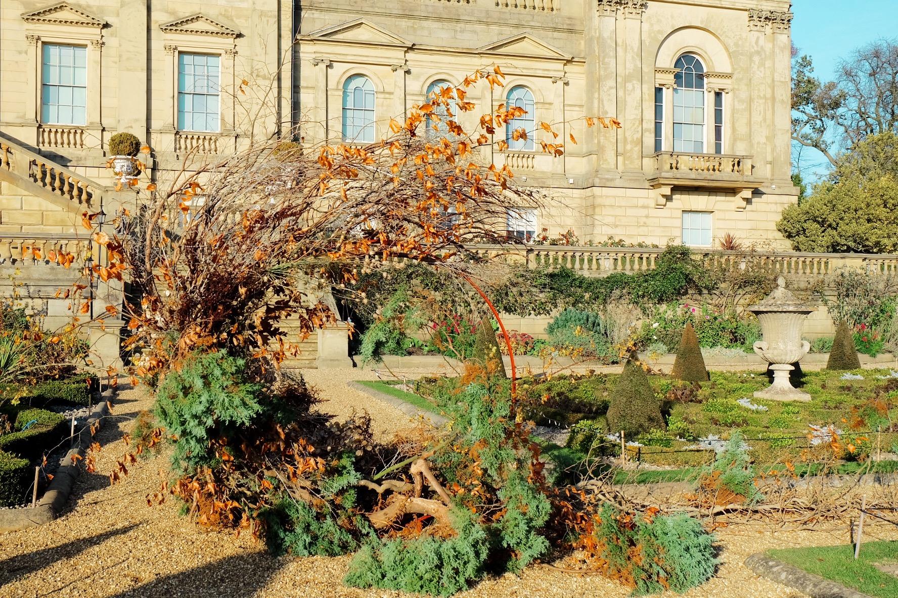 foraged wreath Harewood House