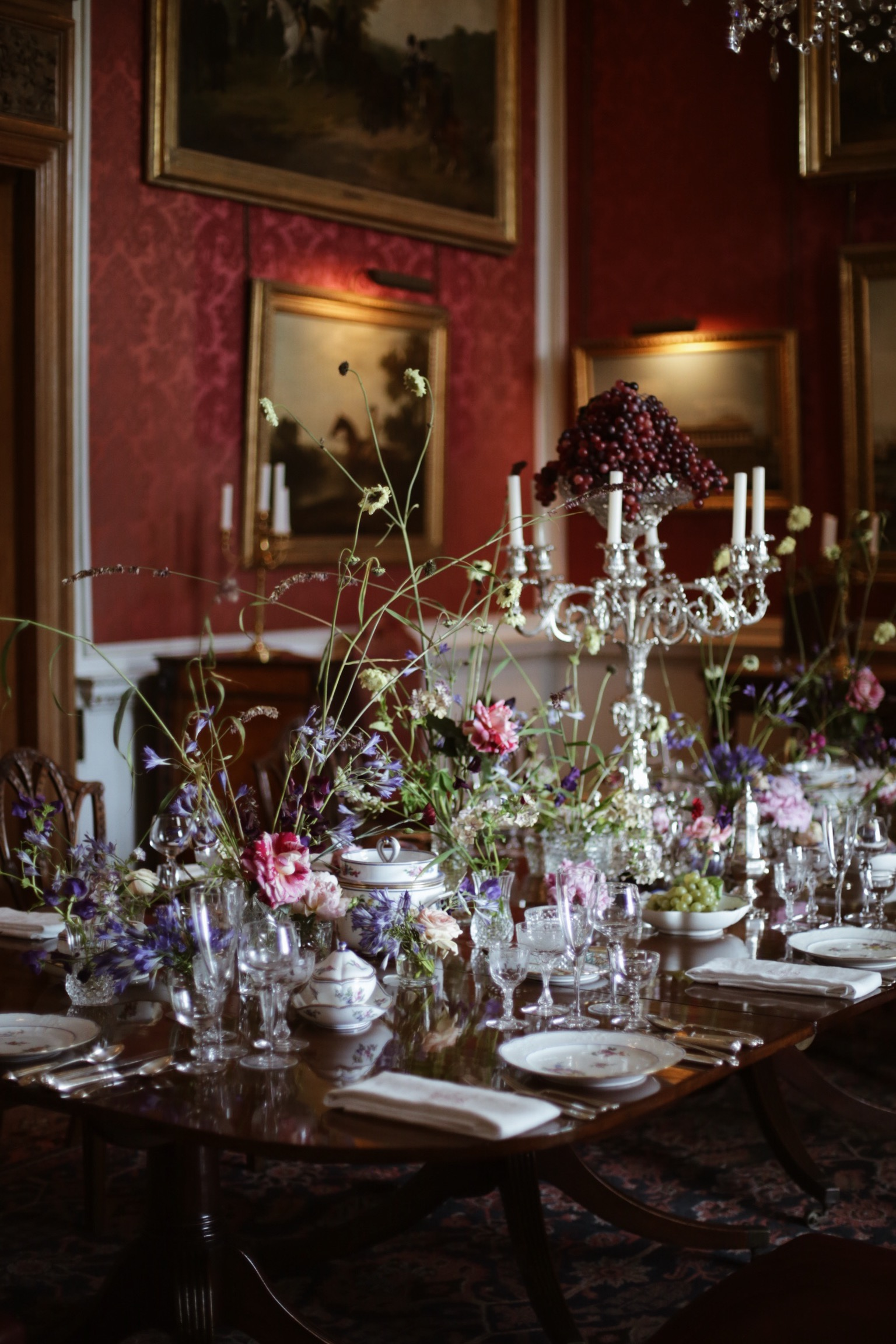 British flowers having a party at Castle Howard - image Hannah Straughan
