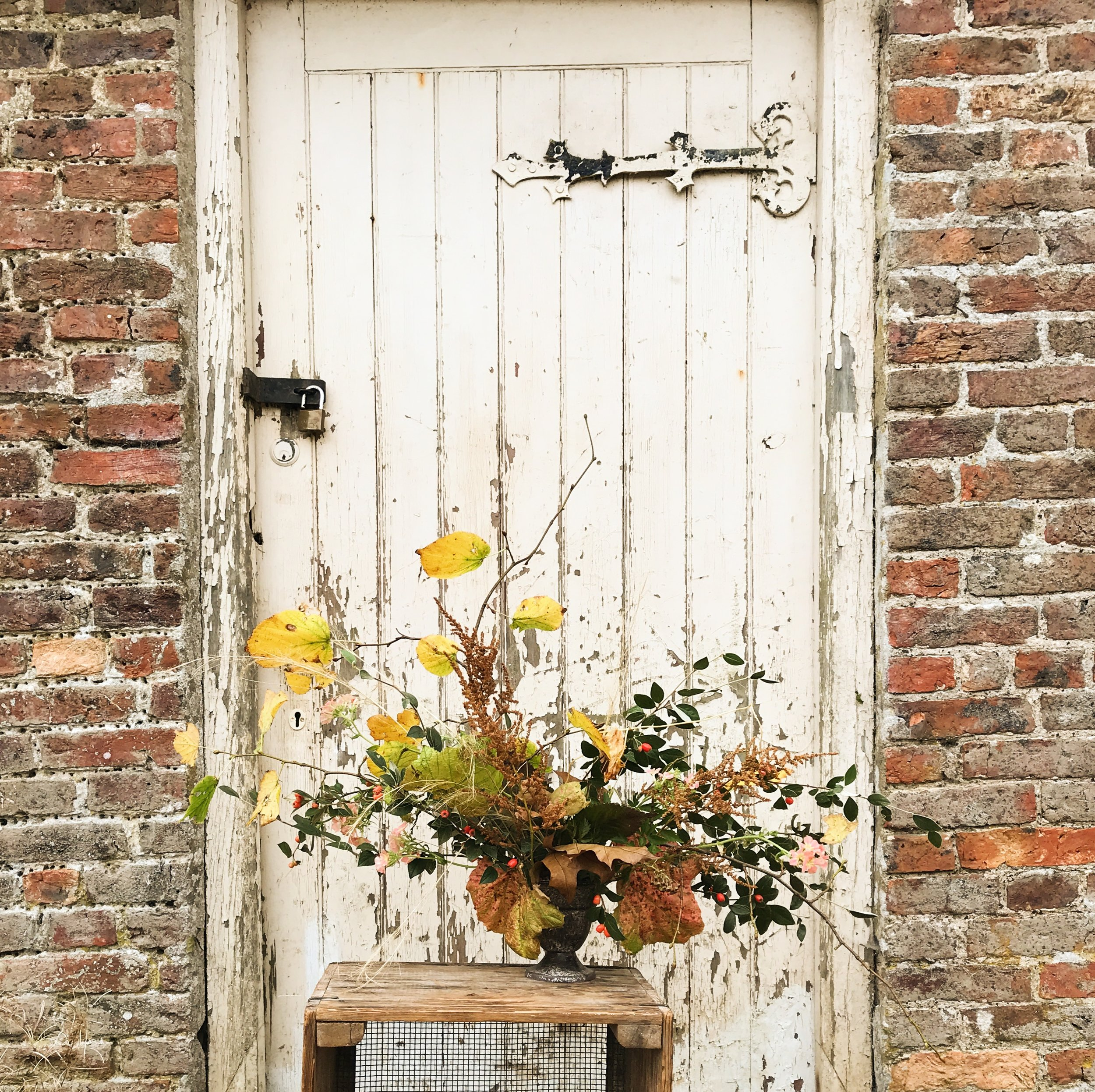 Head gardener's urn - Fiona worked with the gardening team at Castle Howard demonstrating urns made in Fiona's style