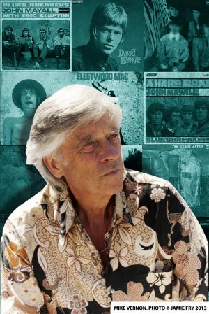 Legendary Producer Mike Vernon