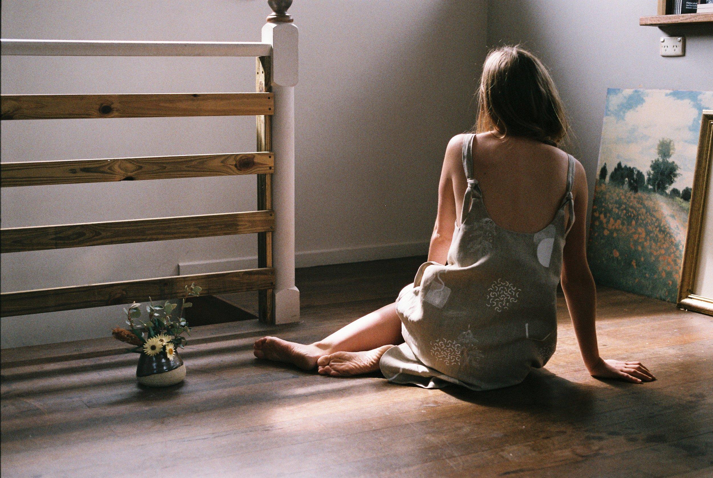 Model: Alice Ramsden.