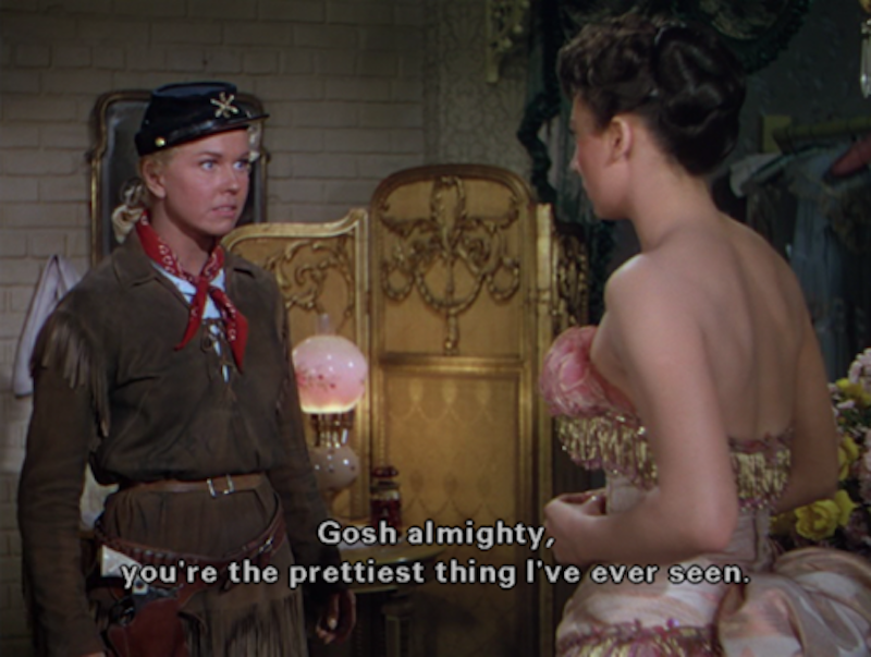 Calamity Jane  (1953), directed by David Butler.