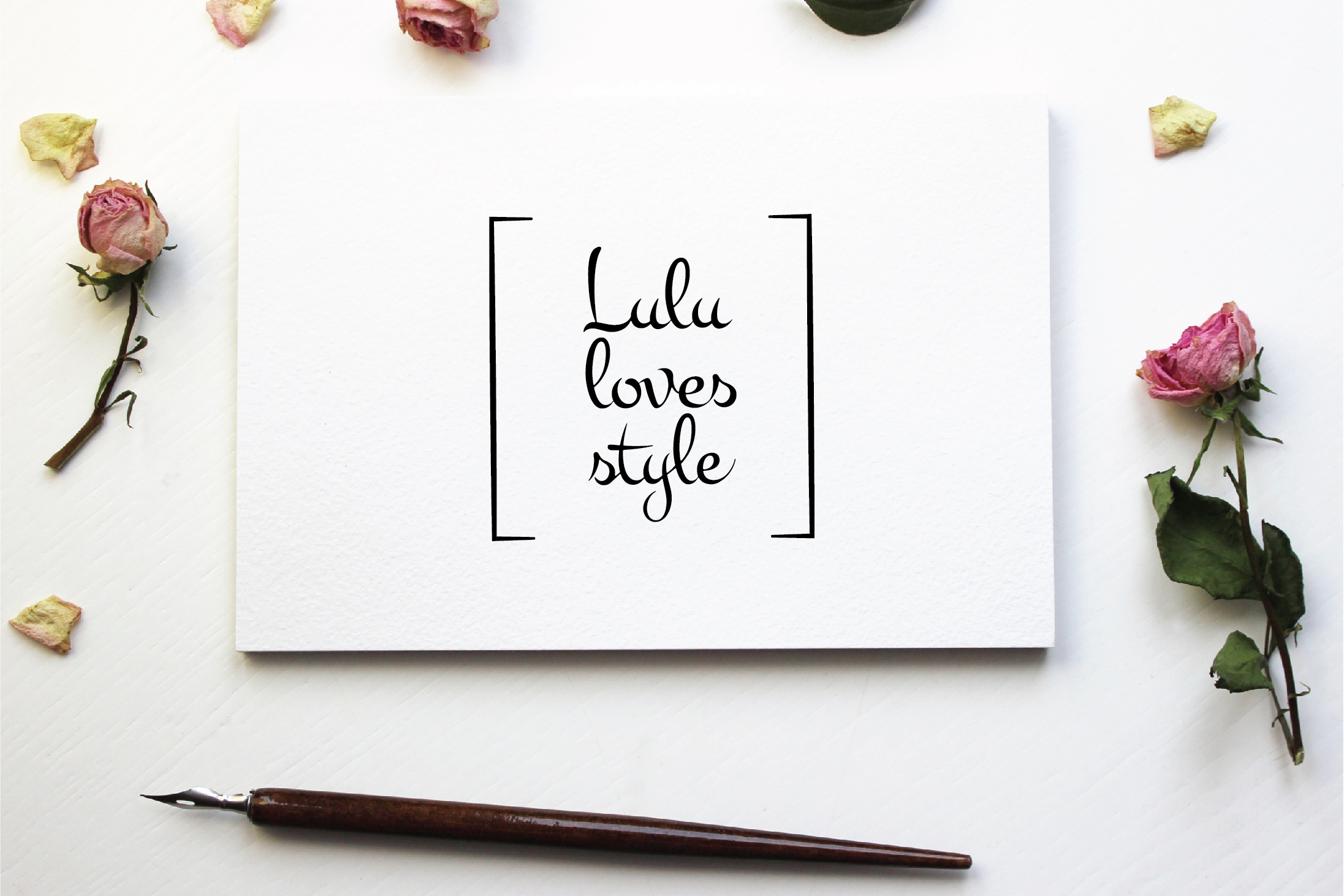 Lulu Loves Style Logo Creation