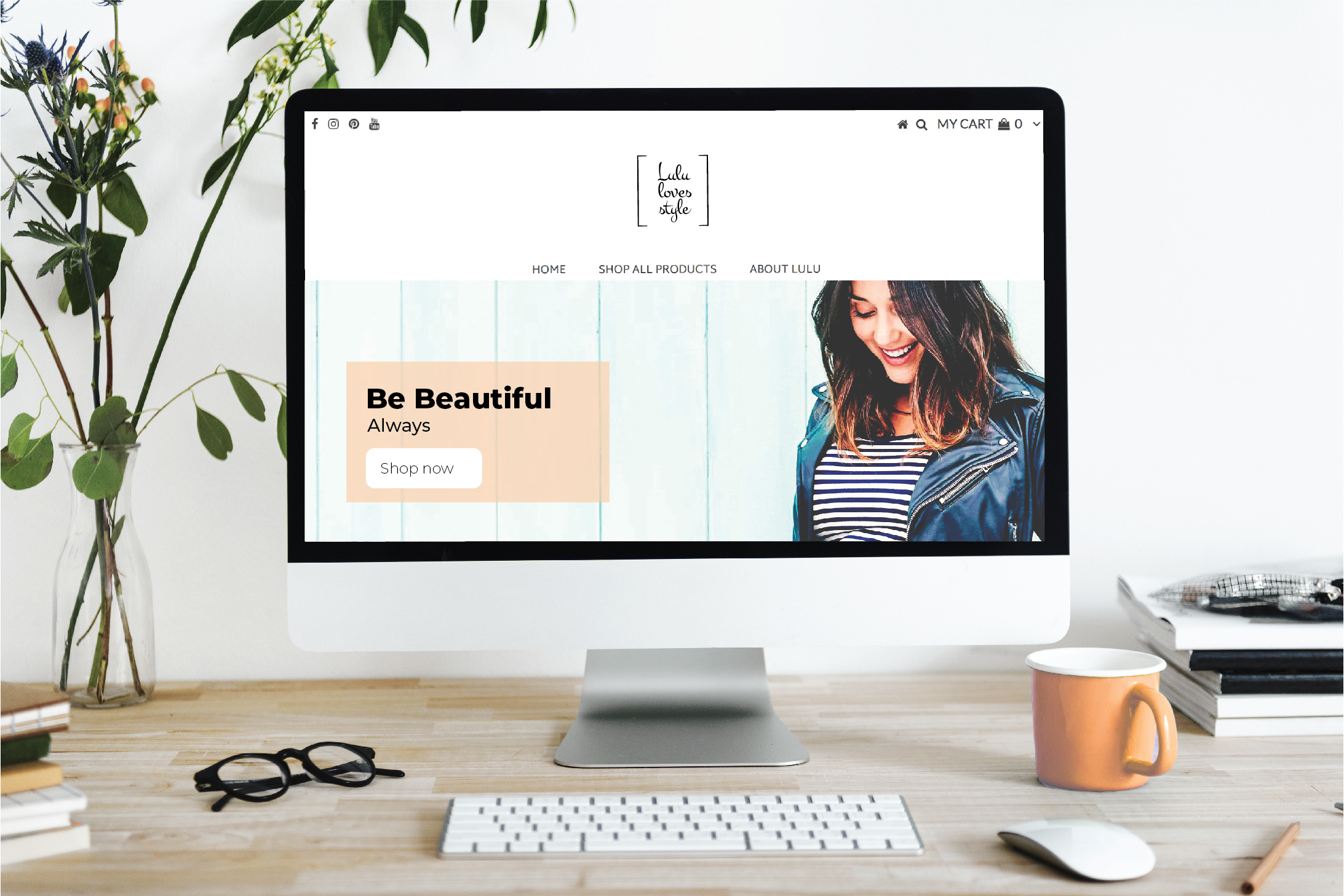 Lulu Loves Style website design