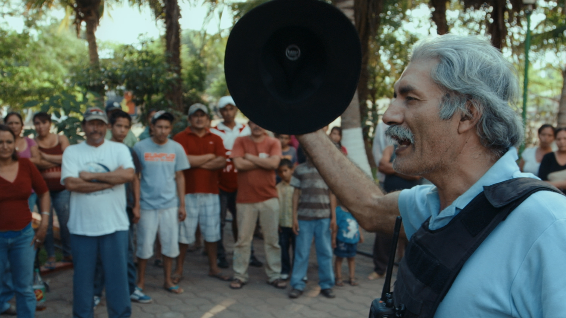 #3 - Dr. Jose Mireles addressing a crowd in Michoacán, Mexico, from CARTEL LAND, a film by Matthew Heineman.jpg